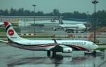 KAZKAZさんが、シンガポール・チャンギ国際空港で撮影したビーマン・バングラデシュ航空 737-8E9の航空フォト(写真)