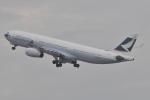 Orange linerさんが、関西国際空港で撮影したキャセイパシフィック航空 A330-343Xの航空フォト(写真)