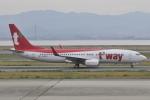 Orange linerさんが、関西国際空港で撮影したティーウェイ航空 737-8ASの航空フォト(写真)