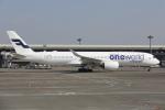 安芸あすかさんが、成田国際空港で撮影したフィンエアー A350-941XWBの航空フォト(写真)