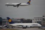 JA8037さんが、フランクフルト国際空港で撮影したルフトハンザドイツ航空 A380-841の航空フォト(写真)