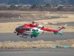 JA655Jさんが、岡南飛行場で撮影した岡山市消防航空隊 BK117C-2の航空フォト(写真)