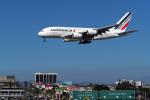 LAX Spotterさんが、ロサンゼルス国際空港で撮影したエールフランス航空 A380-861の航空フォト(写真)