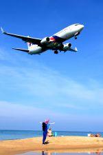 まいけるさんが、プーケット国際空港で撮影したマレーシア航空 737-8H6の航空フォト(写真)