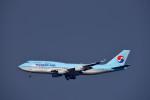 we love kixさんが、関西国際空港で撮影した大韓航空 747-4B5の航空フォト(写真)