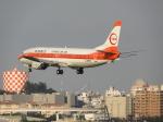 おっつんさんが、那覇空港で撮影した日本トランスオーシャン航空 737-446の航空フォト(写真)