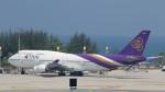 westtowerさんが、プーケット国際空港で撮影したタイ国際航空 747-4D7の航空フォト(写真)