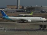 さゆりんごさんが、羽田空港で撮影したガルーダ・インドネシア航空 777-3U3/ERの航空フォト(写真)