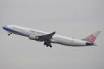 キイロイトリ1005fさんが、関西国際空港で撮影したチャイナエアライン A330-302の航空フォト(写真)