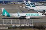 キイロイトリ1005fさんが、関西国際空港で撮影したエアソウル A321-231の航空フォト(写真)