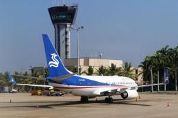 westtowerさんが、バンダラナイケ国際空港で撮影した華龍航空 737-7CG BBJの航空フォト(飛行機 写真・画像)