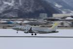 まっさんさんが、山形空港で撮影したフジドリームエアラインズ ERJ-170-200 (ERJ-175STD)の航空フォト(写真)