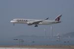 JA1118Dさんが、香港国際空港で撮影したカタール航空 A350-941XWBの航空フォト(写真)