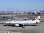よんすけさんが、羽田空港で撮影した中国国際航空 A330-343Xの航空フォト(写真)