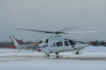 なないろさんが、函館空港で撮影した鹿児島国際航空 A109E Powerの航空フォト(写真)