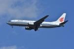 よしポンさんが、成田国際空港で撮影した中国国際航空 737-86Nの航空フォト(写真)