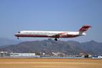 wish-blueさんが、高知空港で撮影した遠東航空 MD-83 (DC-9-83)の航空フォト(写真)