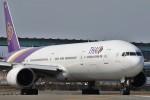 masa707さんが、福岡空港で撮影したタイ国際航空 777-3D7の航空フォト(写真)