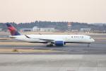 Masahiro0さんが、成田国際空港で撮影したデルタ航空 A350-941XWBの航空フォト(写真)