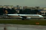 KAZKAZさんが、シンガポール・チャンギ国際空港で撮影したシンガポール航空 A330-343Xの航空フォト(写真)