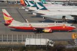 キイロイトリ1005fさんが、関西国際空港で撮影した雲南祥鵬航空 737-84Pの航空フォト(写真)