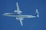神宮寺ももさんが、新千歳空港で撮影したANAウイングス DHC-8-402Q Dash 8の航空フォト(写真)