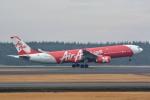 トロピカルさんが、成田国際空港で撮影したインドネシア・エアアジア・エックス A330-343Xの航空フォト(写真)