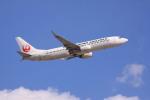 けいとパパさんが、成田国際空港で撮影した日本航空 737-846の航空フォト(写真)