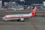 ウッディーさんが、福岡空港で撮影した中国聯合航空 737-89Pの航空フォト(写真)
