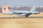 350JMさんが、厚木飛行場で撮影したアメリカ海軍 F/A-18E Super Hornetの航空フォト(写真)