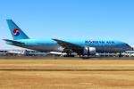 Kuuさんが、鹿児島空港で撮影した大韓航空 777-2B5/ERの航空フォト(写真)