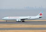 じーく。さんが、羽田空港で撮影したエア・カナダ A330-343Xの航空フォト(飛行機 写真・画像)