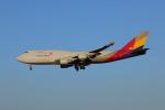 じゃりんこさんが、成田国際空港で撮影したアシアナ航空 747-48EM(BDSF)の航空フォト(写真)