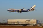 じゃりんこさんが、成田国際空港で撮影したエアブリッジ・カーゴ・エアラインズ 747-406F/ER/SCDの航空フォト(写真)