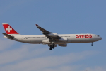 じゃりんこさんが、成田国際空港で撮影したスイスインターナショナルエアラインズ A340-313Xの航空フォト(写真)