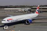 じゃりんこさんが、成田国際空港で撮影したブリティッシュ・エアウェイズ 777-336/ERの航空フォト(写真)