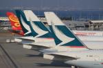 キイロイトリ1005fさんが、関西国際空港で撮影したキャセイパシフィック航空 777-267の航空フォト(写真)