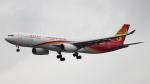 誘喜さんが、香港国際空港で撮影した香港航空 A330-343Xの航空フォト(写真)