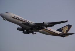takikoki50000さんが、関西国際空港で撮影したシンガポール航空カーゴ 747-412F/SCDの航空フォト(写真)