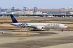 たまさんが、羽田空港で撮影したガルーダ・インドネシア航空 777-3U3/ERの航空フォト(写真)