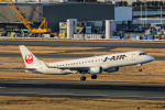 SGR RT 改さんが、羽田空港で撮影したジェイ・エア ERJ-190-100(ERJ-190STD)の航空フォト(写真)