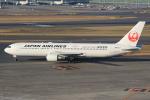 キイロイトリ1005fさんが、羽田空港で撮影した日本航空 767-346/ERの航空フォト(写真)