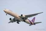 遠森一郎さんが、福岡空港で撮影したタイ国際航空 777-3D7の航空フォト(写真)