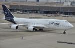 IL-18さんが、羽田空港で撮影したルフトハンザドイツ航空 747-830の航空フォト(写真)