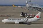 じゃりんこさんが、中部国際空港で撮影した日本トランスオーシャン航空 737-8Q3の航空フォト(写真)