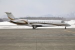 北の熊さんが、新千歳空港で撮影したエグゼクティブ・アヴィエーション・台湾 EMB-135BJ Legacy 600の航空フォト(写真)
