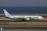 meron panさんが、羽田空港で撮影したAIR DO 767-381の航空フォト(写真)