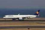 meron panさんが、羽田空港で撮影したルフトハンザドイツ航空 A350-941XWBの航空フォト(写真)