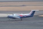 M.Ochiaiさんが、宮崎空港で撮影した川崎重工業 B200 Super King Airの航空フォト(写真)