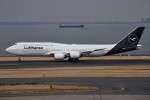 さくらの城南山。さんが、羽田空港で撮影したルフトハンザドイツ航空 747-830の航空フォト(飛行機 写真・画像)